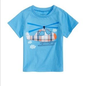 First Impressions Baby Boys Helicopter T-Shirt